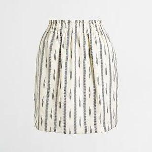 JCrew Cotton Ikat sidewalk skirt
